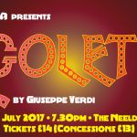 poster for bath opera present rigoletto