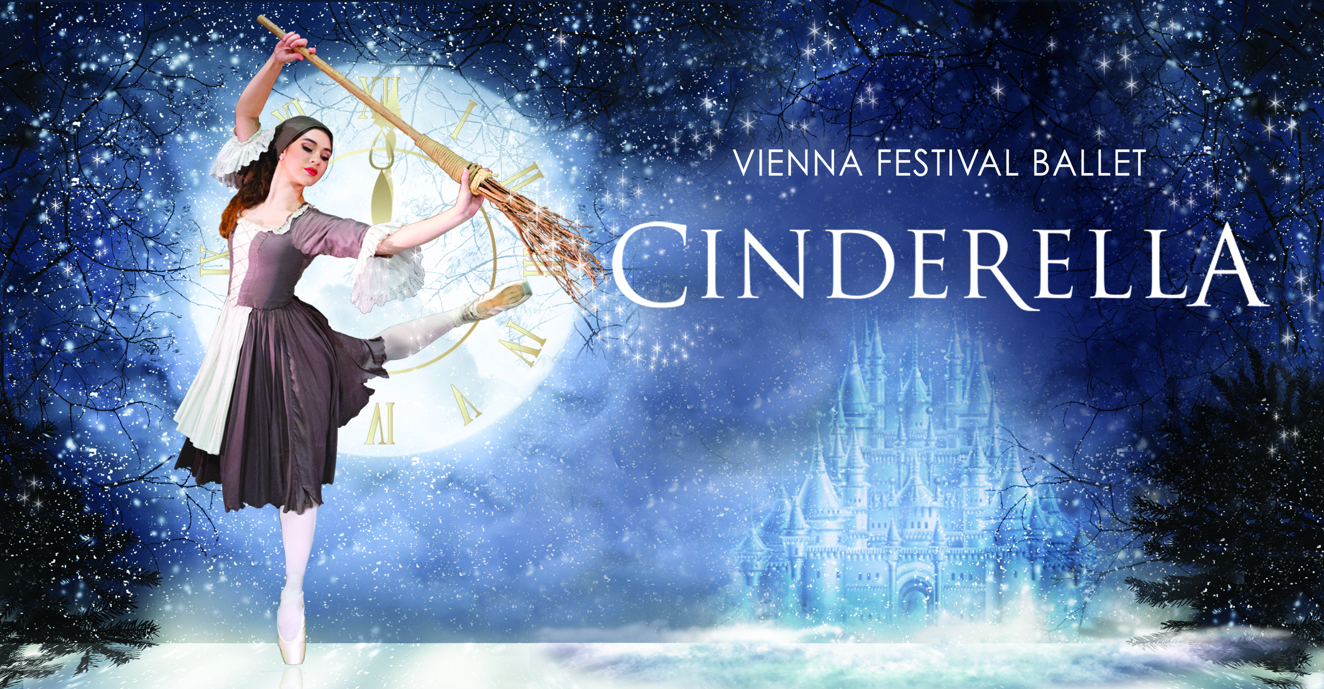 Vienna Ballet Cinderella landscape art