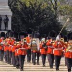 picture of the band of the scots guards