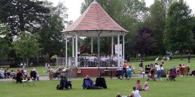 Bandstand in John Coles Park