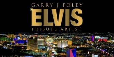 Garry J Foley ELVIS Tribute Artist Logo